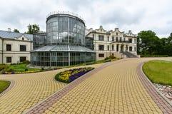 Kretinga ogród botaniczny, Lithuania obrazy stock