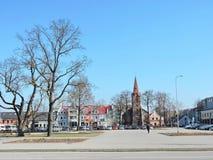 Kretinga town, Lithuania Royalty Free Stock Image