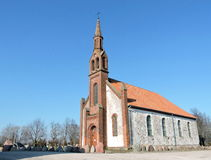 Kretingales church, Lithuania Stock Photography