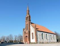 Kretingales-Kirche, Litauen stockfotografie