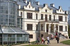 Kretingamuseum, Litouwen stock afbeelding