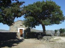 Kretische Kapelle Stockfoto