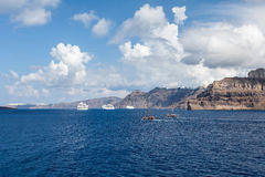 Kretisches Meer in Griechenland Lizenzfreies Stockbild