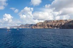 Kretisches Meer in Griechenland Stockbild