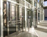 kretsa för dörrexponeringsglas Arkivfoton