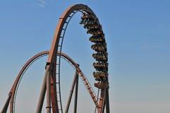 kretsar rollercoasteren Royaltyfria Foton
