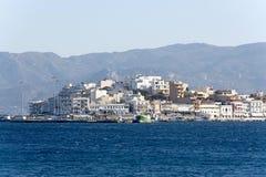 Krety ażio Nikolaos Greece Zdjęcia Stock