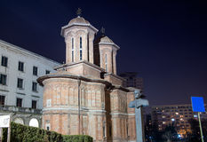 Kretzulescu Church, central Bucharest Royalty Free Stock Photo