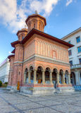 Kretzulescu Church, finished in 1722, Bucharest, Romania stock photo