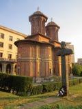 Kretzulescu kyrka, Bucharest, Rumänien Arkivfoto