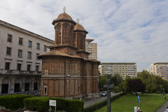 Kretzulescukerk in Boekarest royalty-vrije stock afbeelding
