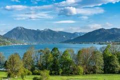 Kreuth przy Tegernsee jeziorem w Bavaria, Niemcy zdjęcie stock
