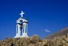 Kreuz auf dem Himmel Stockfotografie