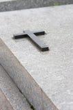 Kreuz auf Wölbung Lizenzfreie Stockbilder