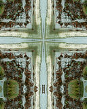 Kreuz der niedrigen Gezeiten Stockfoto