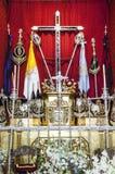 Kreuz des Führers und der Ausweise Lizenzfreies Stockfoto