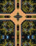Kreuz eines Kreuzes Stockbild