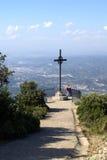 Kreuz, Montserrat-Kloster Stockbilder