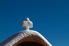 Kreuz in Santa Fe Stockfotografie