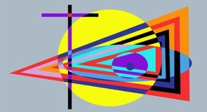 Kreuz und Auge vektor abbildung