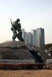 Kreuz und Berge seoul SEOUL - 30 Lizenzfreie Stockfotografie