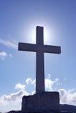 Kreuz und Himmel Lizenzfreie Stockfotos