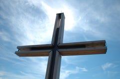 Kreuz und Himmel Lizenzfreie Stockbilder