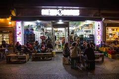 Kreuzberg uteliv Arkivfoton