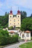 Kreuzberglkirche w Klagenfurt, Austria zdjęcia royalty free