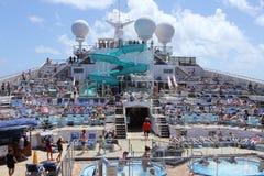 Kreuzen die Süd-Karibischen Meere Stockfotos