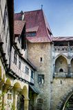 Kreuzenstein城堡在奥地利 免版税库存照片