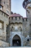 Kreuzenstein城堡在奥地利 库存照片