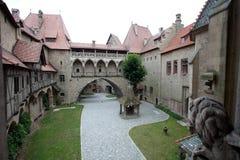 Kreuzenstein Schloss Stockfotos