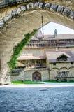 Kreuzenstein slott i Österrike Arkivfoto