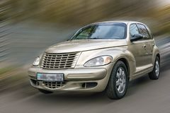 Kreuzer Chryslers Pint lizenzfreie stockbilder
