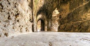 Kreuzfahrerschloss, Byblos, der Libanon Lizenzfreies Stockfoto