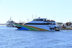 Kreuzfahrt-Boot in Australien Lizenzfreie Stockbilder