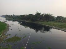 Kreuzfahrt im Fluss von Bangladesch lizenzfreies stockbild