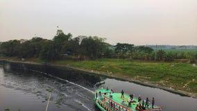 Kreuzfahrt im Fluss von Bangladesch stockbilder