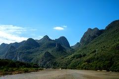 Kreuzfahrt von Guilin zu Yangshuo Lizenzfreie Stockfotos