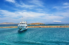 Kreuzfahrtboot Stockfotografie