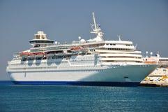 Kreuzfahrtschiff Lizenzfreie Stockbilder