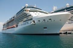 Kreuzfahrtschiff Lizenzfreies Stockfoto