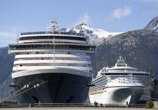 Kreuzfahrtschiffe Lizenzfreie Stockbilder