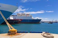 Kreuzfahrtschiffe Lizenzfreie Stockfotos