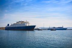 Kreuzfahrtschiffe Stockfotografie