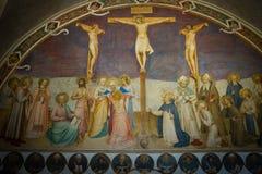 Kreuzigung von Christ Stockbild