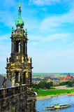 The Kreuzkirche church. Dresden, Germany Stock Photo