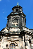 Kreuzkirche or Church of the Holy Cross in Dresden Germany is th Royalty Free Stock Photos