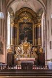 Kreuzkirche em Munich, Alemanha, 2015 foto de stock royalty free